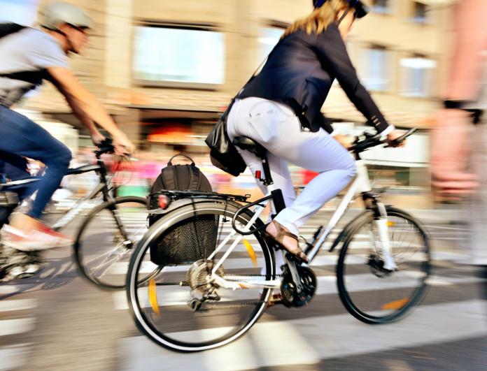 Fler och fler cyklar till jobbet